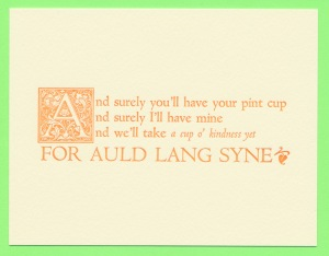 auld lang syne Student