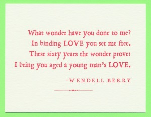 wendell berry Student