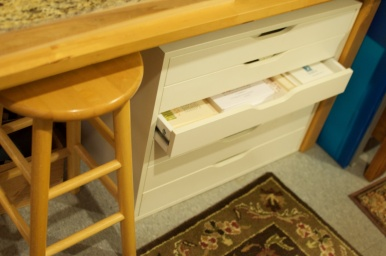 Paper Cabinet & Stool
