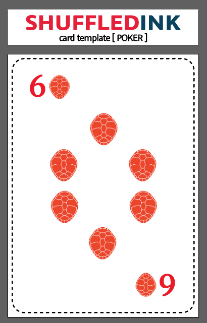 Diamonds Six Card